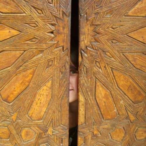 Orientalic door, Thetaflow by Julia Buschmann